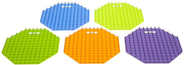 Disc olika färger